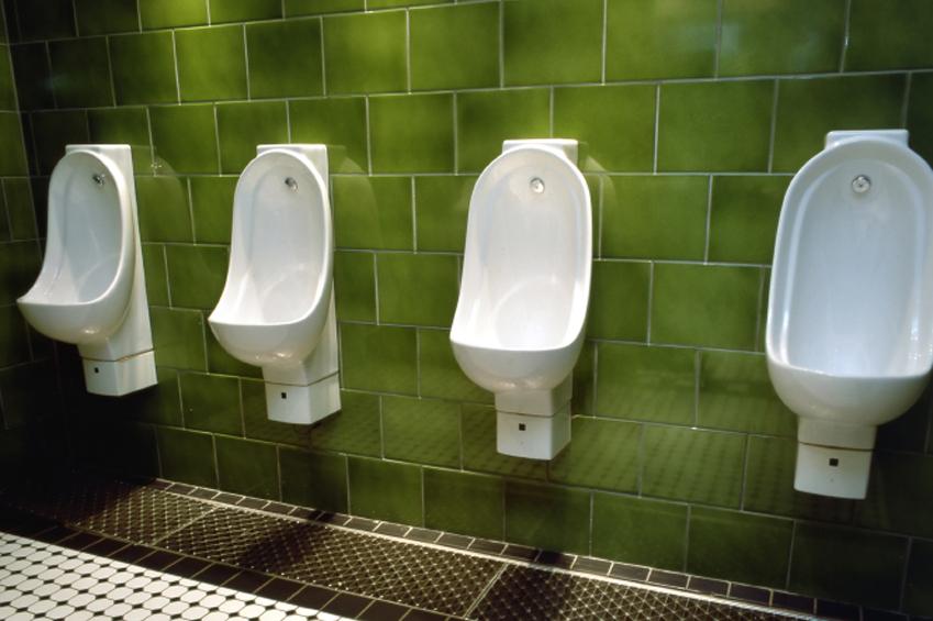 Urinoirs, salle de bain publique
